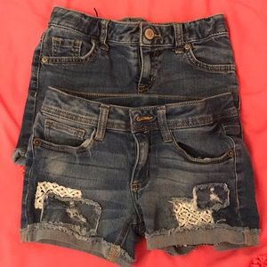 Other - Girls jean shorts bundle of 2
